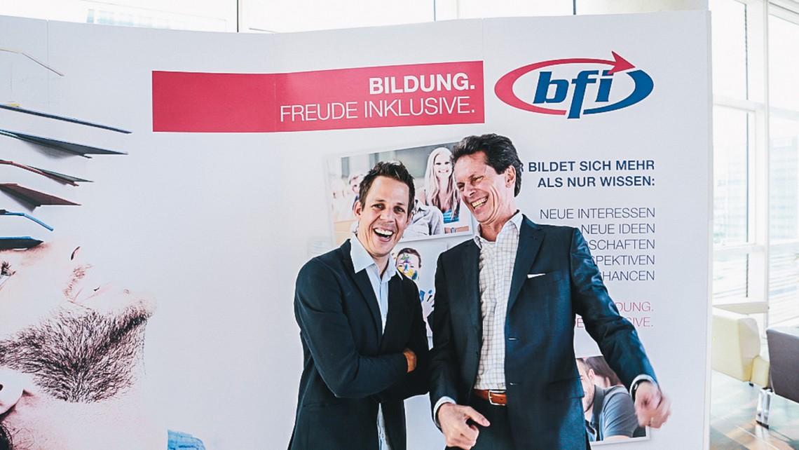 bernhard kohl und wolfgang müller_c_BFI Wien - Marko Zlousic