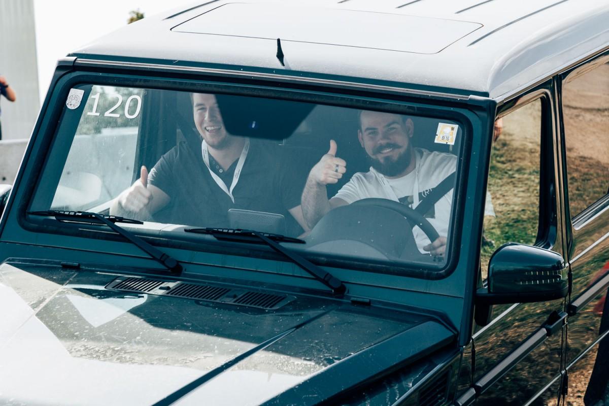 Mercedes-Benz G-Klasse am Wiesenthal Testival