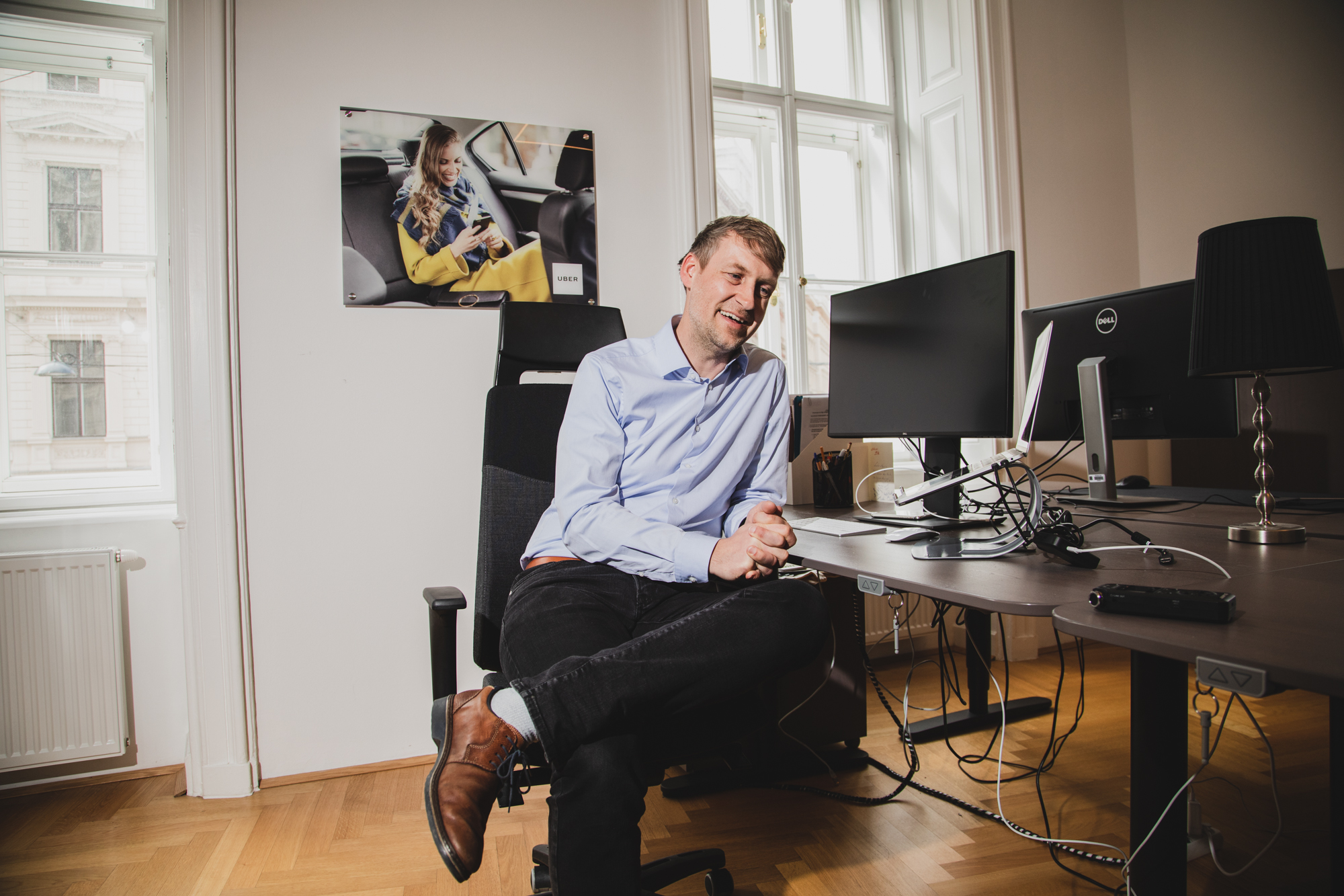 Martin Essl von Uber